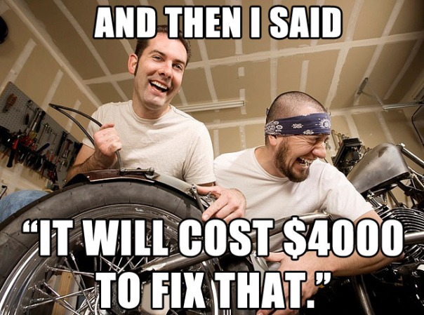 Dishonest mechanic