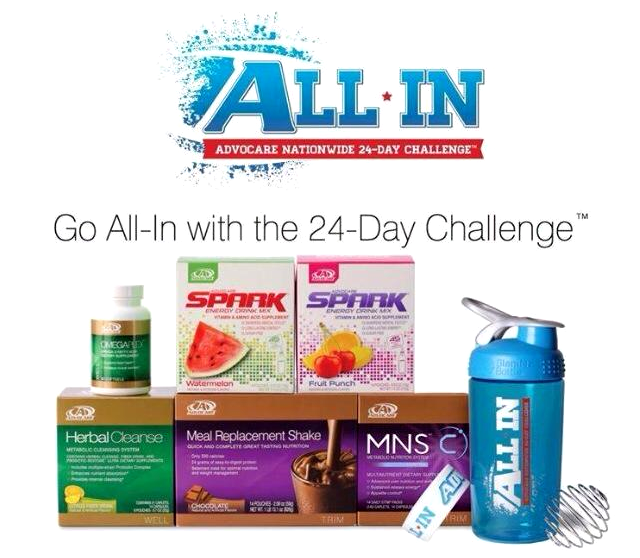 AdvoCare All In 24 Day Challenge