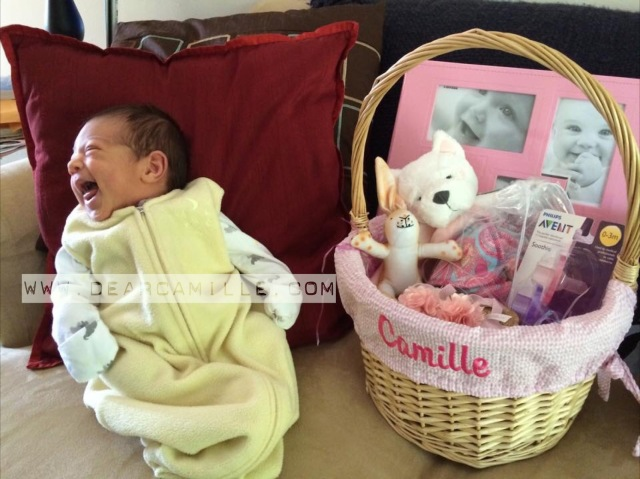 Camille and Easter Baskets