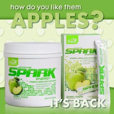 AdvoCare green apple spark