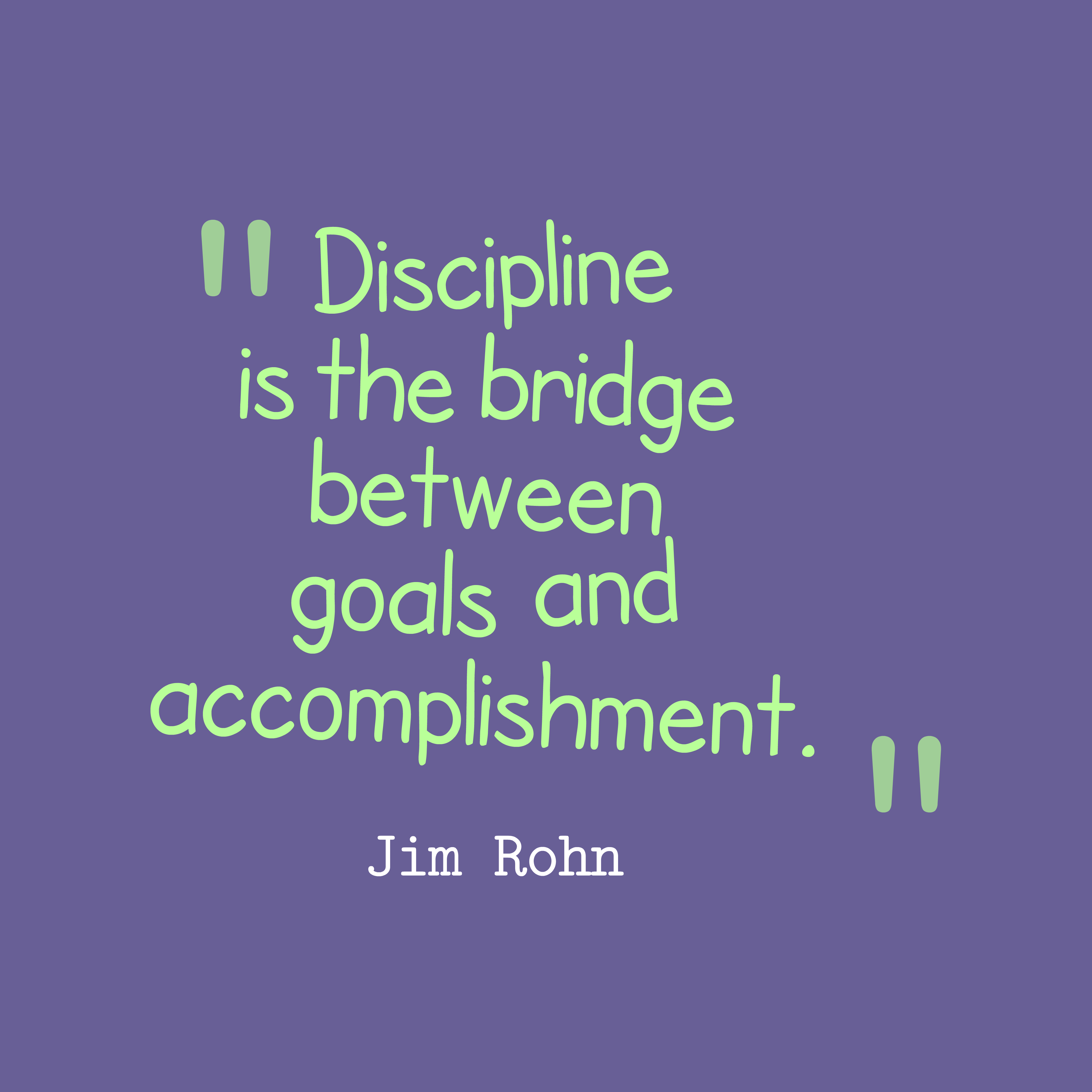 Jim Rohn Discipline Quotes