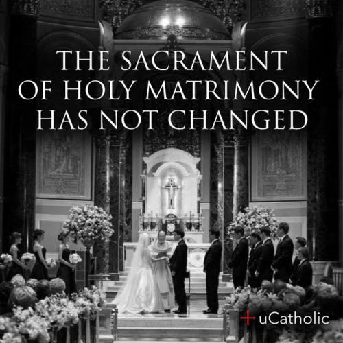 Catholic Sacrament Marriage