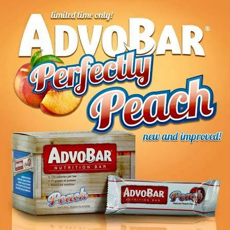 AdvoCare Launchapalooza Perfectly Peach Bar Peach Snack Bar