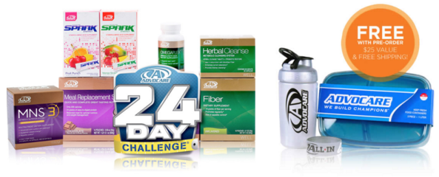 AdvoCare All In Challenge 2016