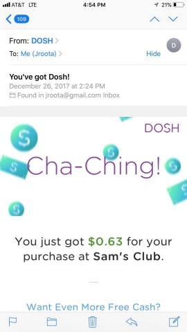 dosh cash app
