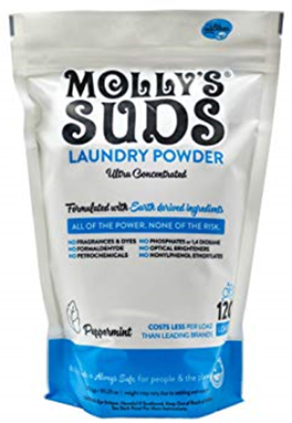 Molly's Suds detergent